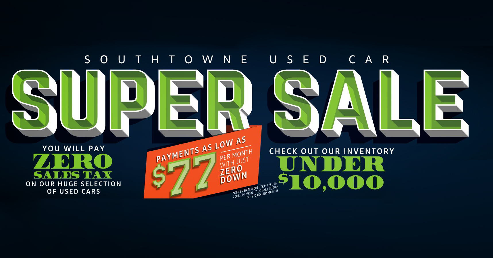 Save BIG during one of the biggest sales of the season!