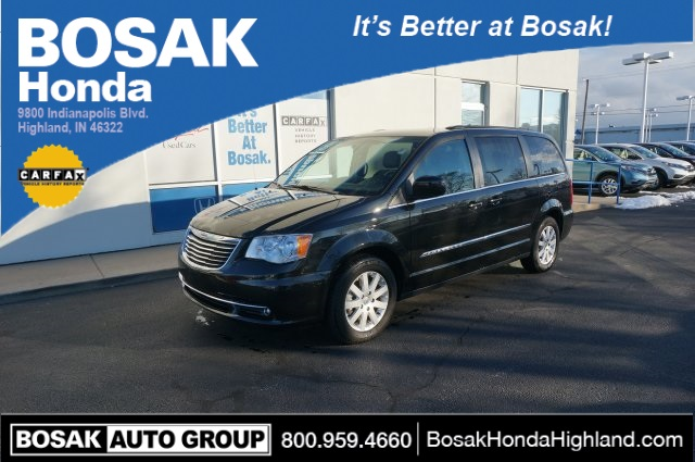 Take a look at this 2014 Chrysler Town and Country Touring in our pre-owned inventory!