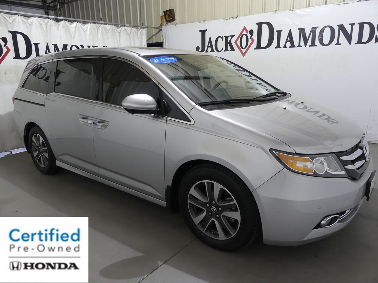 What An Amazing Certified Pre Owned 2015 Honda Odyssey Touring