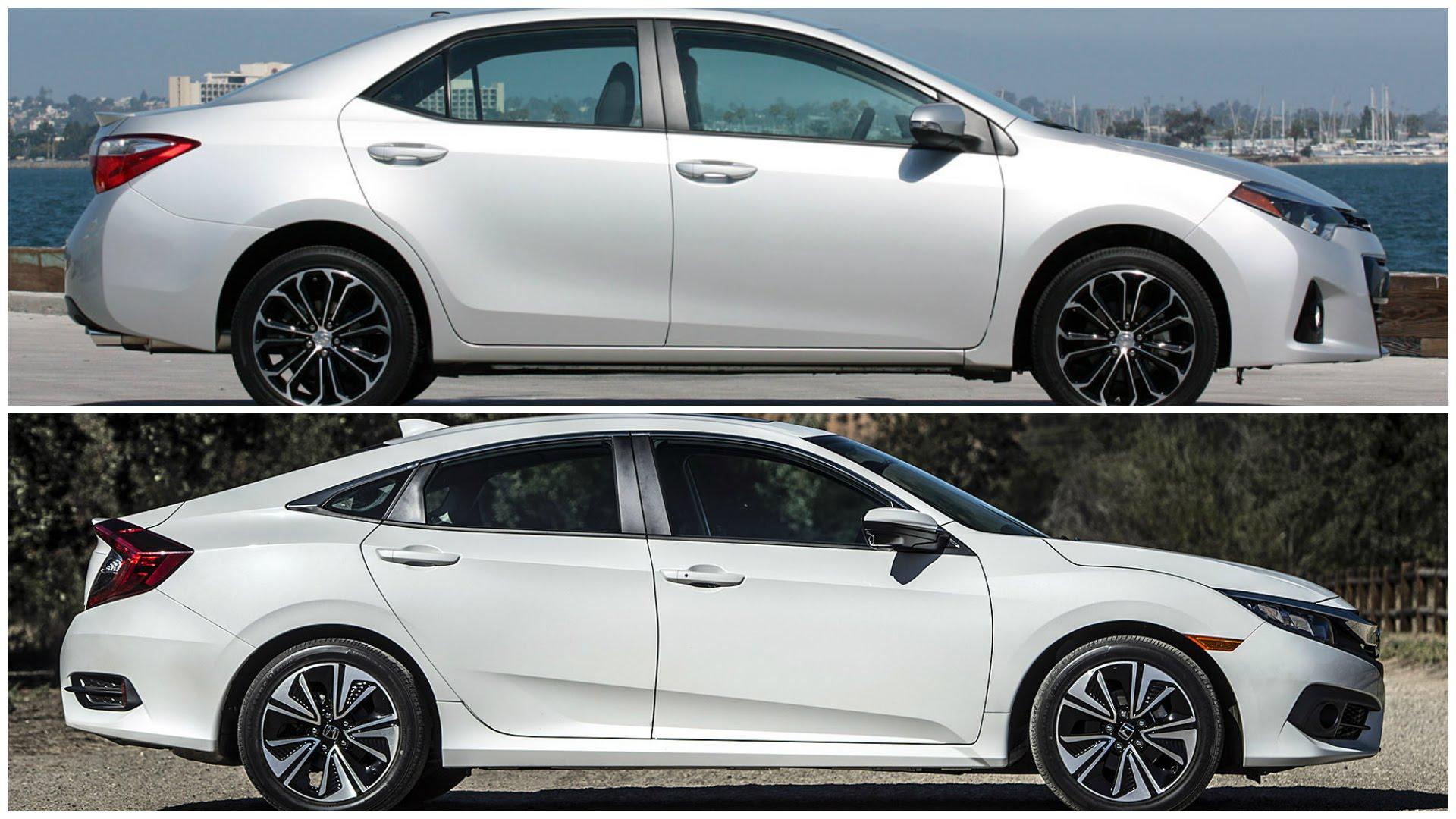 Corolla Vs Civic >> Sedan Showdown 2016 Toyota Corolla Vs 2016 Honda Civic