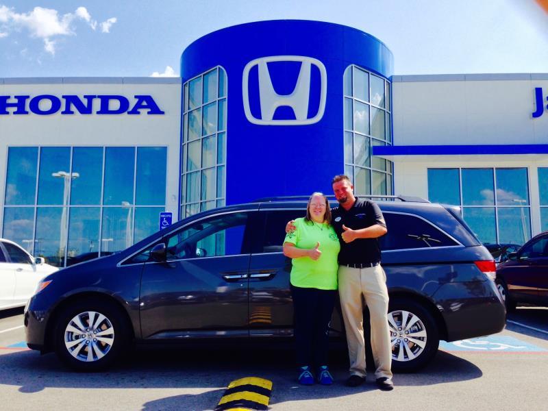 Congratulations to Deanna Allen and her 2015 Honda Odyssey!