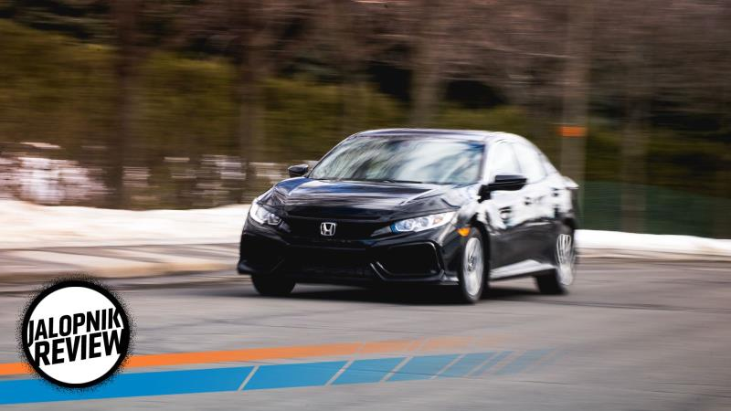 A 2017 Honda Civic Hatchback LX With A Manual Is The Small Car T