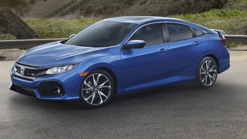 Honda reveals the 205-horsepower Civic Si sedan and coupe