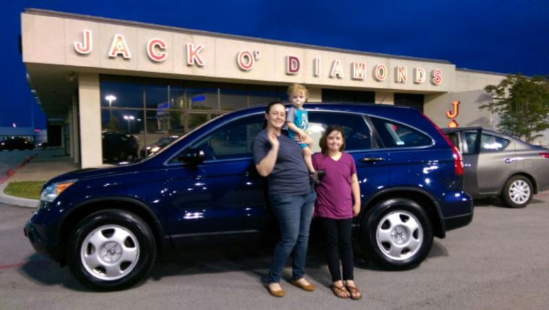 Pre-Owned CR-V finds a new home